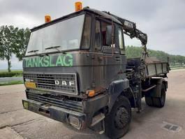 kipper vrachtwagen > 7.5 t DAF FAV1800DT320 1985
