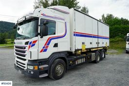 containersysteem vrachtwagen Scania R480 Containerchassis w/ Lift LOW KM, can be sold 2012
