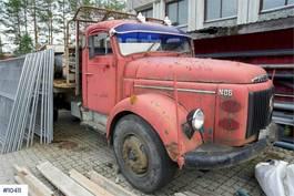 platform vrachtwagen Volvo N86 faltbed 1971