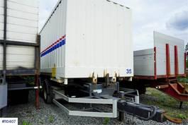 overige vrachtwagen aanhangers Konar NOR18 container trailer, can be sold with co 2012