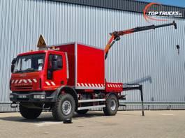 kraanwagen Iveco EuroCargo 140 E25 4x4 - Palfinger 6TM Kraan, Crane, Kran, Grue - Lier, Winch, Winde - ... 2007