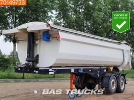 kipper oplegger Langendorf SKS-HS 18/27 2 axles 24m3 Cramaro-Decke Liftachse 2015