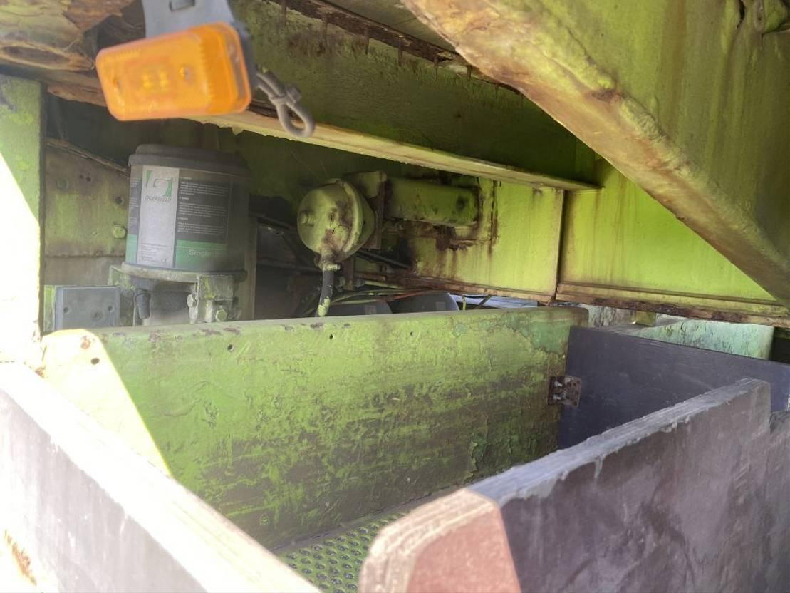 semi dieplader oplegger DRACO DSB 342 2000