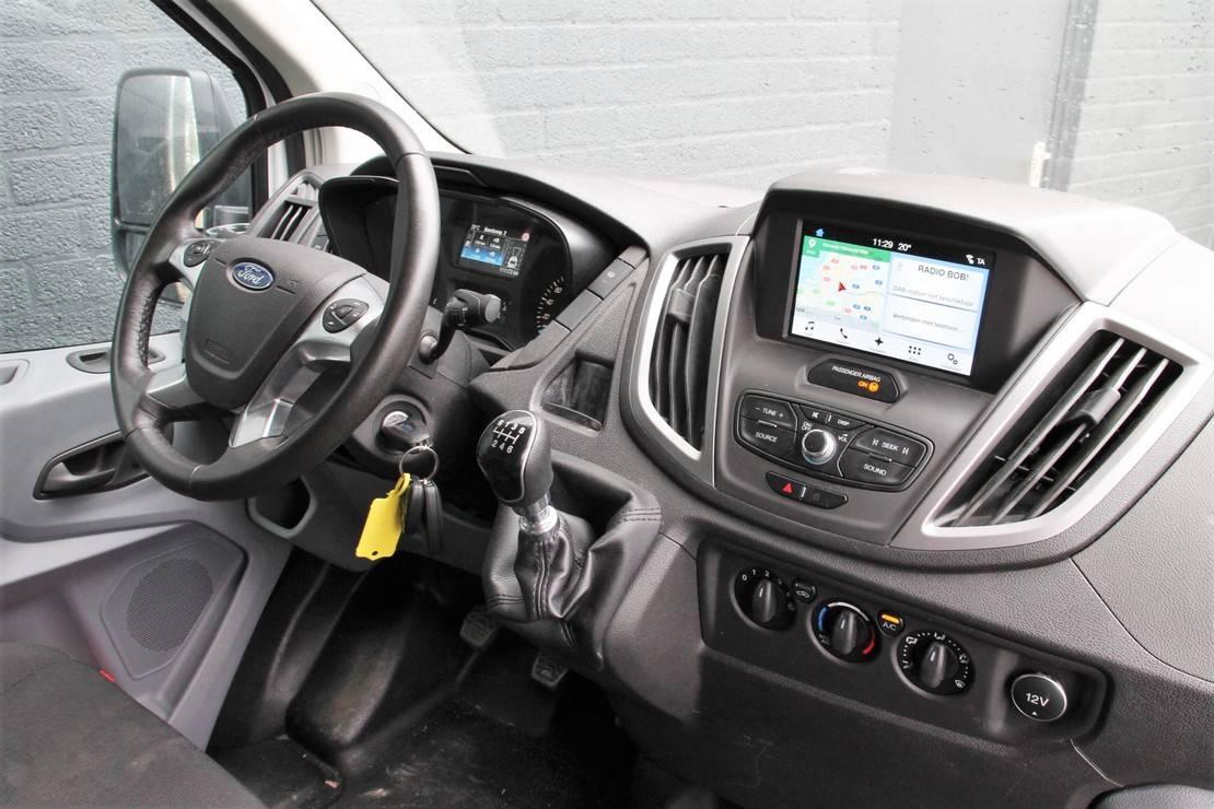 gesloten bestelwagen Ford 290 2.0 TDCI 170PK L2H2 - Airco - Navi - Cruise - € 18.900,- Ex. 2018