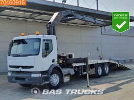 platform vrachtwagen Renault Premium 300 6X2 Manual Liftachse Euro 2 Palfinger PK18080 1999