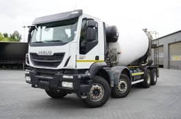 betonmixer vrachtwagen Iveco 400 , E6 , 8X4 , Cement mixer 10m3 , retarder , 100.000k 2018