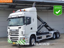 containersysteem vrachtwagen Scania R400 6X2 NL-Truck Hydraulik Liftachse 3-Pedals Euro 5 2010