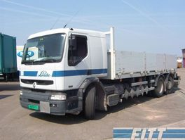 open laadbak vrachtwagen Renault Premium 370-26 6x2 - 142500 KM NO CRANE 2004