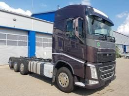 chassis cabine vrachtwagen Volvo FH 500 Globetrotter, Euro 6, 8x4 2017