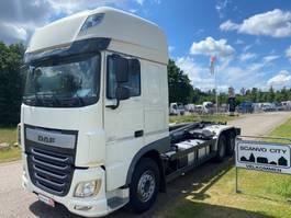 containersysteem vrachtwagen DAF XF 460 6x2*4 FAN 2016