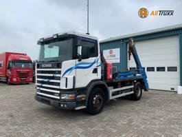 containersysteem vrachtwagen Scania 114 380 Portaal Full steel 2000