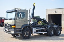 containersysteem vrachtwagen Mercedes-Benz Atego 2628 6x4 CONTAINER SYSTEEM- CONTAINER SISTEEM- CONTAINER HAAKSYSTEEM- SYSTEME CONTENEUR 1999