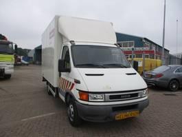 gesloten bestelwagen Iveco 40 C 13 EURO 3 WB=375 CM 2004