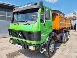 kipper vrachtwagen > 7.5 t Mercedes-Benz 2626 K 6x6 Meiller tipper 1980