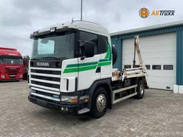 containersysteem vrachtwagen Scania 124 420 Retarder Portaal 2000
