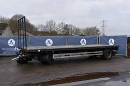 platte aanhanger vrachtwagen Renders Aanhangwagen