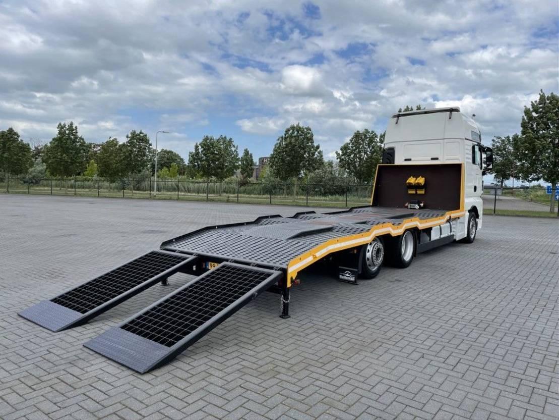 takelwagen-bergingswagen-vrachtwagen MAN TGX 26.460 NEW MODEL MASCHINEN MACHINE TRANSPORT EURO 6 2017