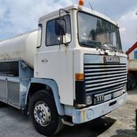 tankwagen vrachtwagen Scania 111 1987