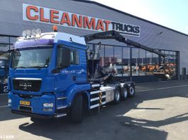 containersysteem vrachtwagen MAN TGS 35 8x4 16 ton/meter Z-kraan 2009