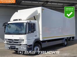 bakwagen vrachtwagen Mercedes-Benz Atego 1218 4X2 BE - Registration Manual Ladebordwand Euro 5 2013