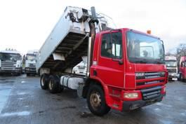 kipper vrachtwagen > 7.5 t DAF CF 75 .310 6x4 RHD  Manual (FULL SPRING SUSPENSION) 2003