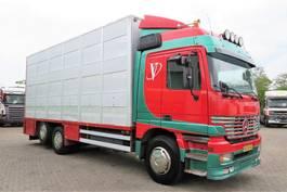 veewagen vrachtwagen Mercedes-Benz ACTROS 2543L 6x2 BERDEX 3  lagen beweegbare opbouw /laadlift  (APK tot 04/02/2022!) 1998