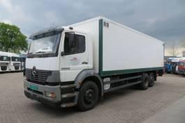 bakwagen vrachtwagen Mercedes-Benz Atego 2528 2528 L  6x2  Closed box truck Very clean 2001