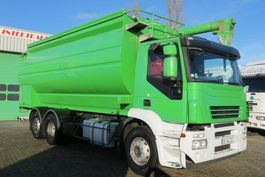 silo vrachtwagen Iveco Stralis Food silo Auger, 5 comp, FRENCH use,  1owner only!!! 2007