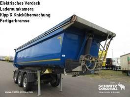 kipper oplegger Schmitz Cargobull Auflieger Kipper Stahlrundmulde 25m³ 2017