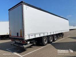schuifzeil oplegger Schmitz Cargobull Schuifzeil Standard Hydr. laadklep 2014