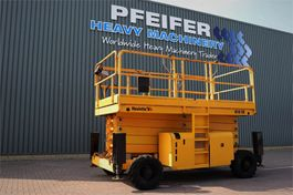 schaarhoogwerker wiel Haulotte H18SX Diesel, 4x4 Drive, 18m Working Height, 500kg 2008