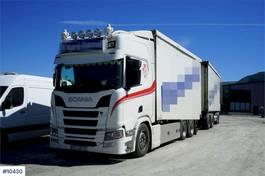 bakwagen vrachtwagen Scania R500 m/VANG Påbygg og VANG SLL 2-2BT Henger 2019
