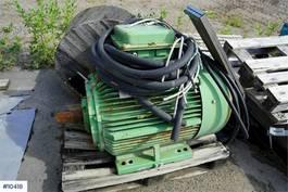 uitrusting overig Schorch 160 kw el. Engine for sale!