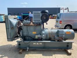 generator MAN D 2156 HM AvK 125 kVA generatorset