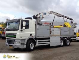 kraanwagen DAF CF 85 + Euro 5 + Manual + Kennis 16.000 Crane + Stone transport 2013