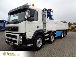 kraanwagen Volvo FM 400 + PTO + Hiab 130R + Stone transport 2006