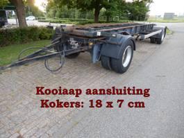 wissellaadbaksysteem aanhanger Van Hool R-214 2 As Vrachtwagen Aanhangwagen T.b.v. Wissellaadbak(ken), WG-48-GH 1991