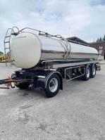 tank aanhanger ETA 3 ESSIEUX -16500L-1 compartiment citerne en inox