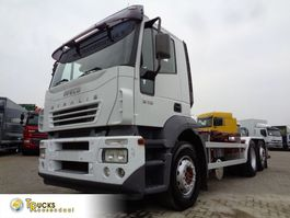 containersysteem vrachtwagen Iveco Stralis 310 + 6X2 + Hook system + 30 TON VDL 2004