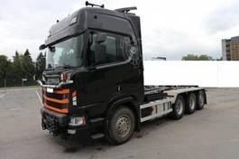 containersysteem vrachtwagen Scania R580 2019
