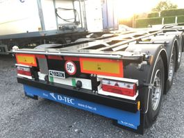 container chassis oplegger D-TEC s