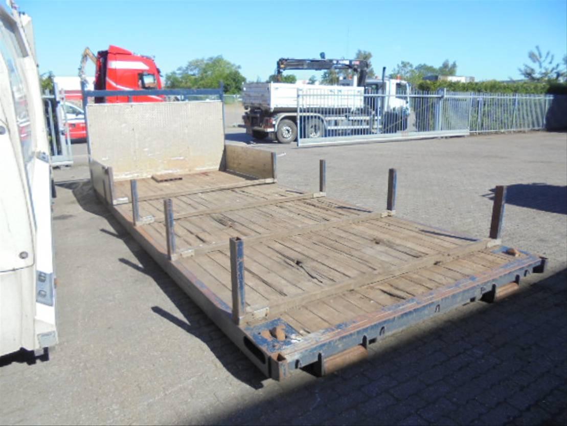 flat rack zeecontainer Krone 2007