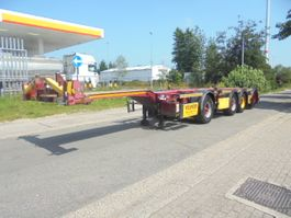 container chassis oplegger D-TEC CT-53-04D 1+3 2006