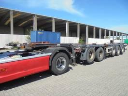 container chassis oplegger D-TEC CT-60 05D DEELBAAR 2004