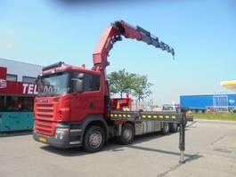 platform vrachtwagen Scania R480 8x2 2007