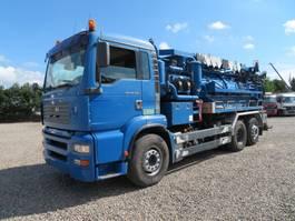 kolkenzuiger vrachtwagen MAN TGA 26.360 6x2*4 Jurop VJC8 Stainless Steel 2004