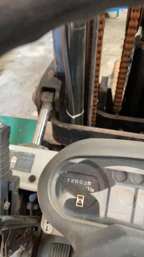vorkheftruck Toyota Gasheftruck 5FG4