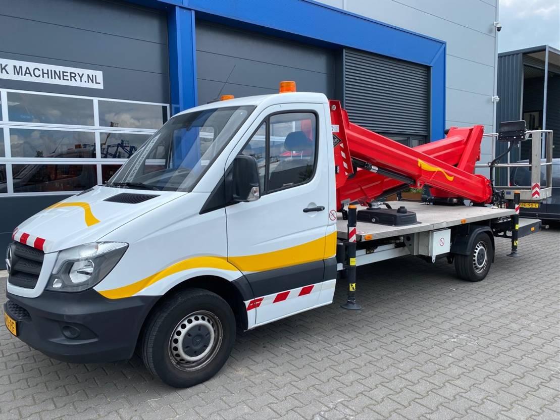 autohoogwerker vrachtwagen Versalift VTX-240 2018