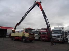 open laadbak vrachtwagen Scania 124-400 6X4 MET PALFINGER PK35000 + FLY JIP REMOTE CONTROL EN 5 EN 6E FUNCTIE 1999