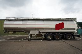 tankoplegger Dijkstra 3 AXLE FOOD TRAILER 1990